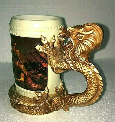 Pirates of the Caribbean Dragon Stein-Disney Parks-Coffee Mug--NEW With TAGS