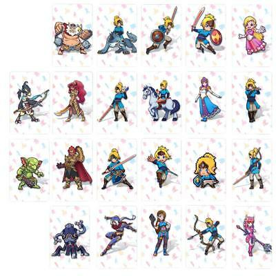 22 Pcs/Set NS Game Cards NFC Tag Cards BOTW Link Characters Game Card Toys
