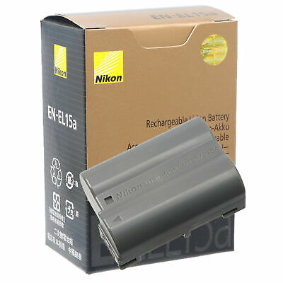NEW Nikon EN-EL15A Battery For Nikon D850 D7500 D750 D810 D7200 D7000 D7100