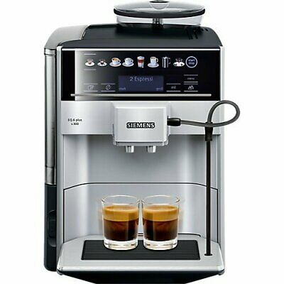 Siemens EQ.6 Plus S300 - Automatic Siemens Coffee Machine - Silver