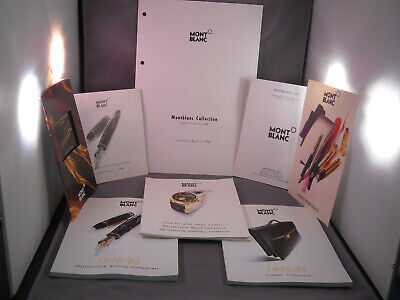 Mont Blanc 1998 Catalogs and Color Brochures