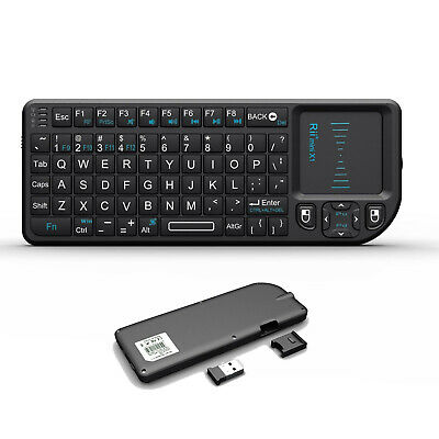 Hot! New Mini X1 2.4G Wireless Mini Keyboard with Touchpad for PC Smart TV