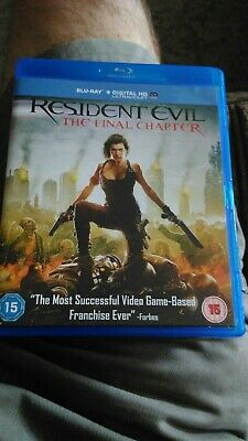Resident Evil: The Final Chapter (Blu-ray) horror thriller cult dark twisted