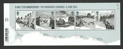 Gb 2019 D Day 75Th Stamp Miniature Sheet
