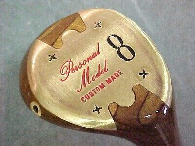 Louisville Personal Model Utility RH Golf Club 8 Wood Refinished w New Tour Grip