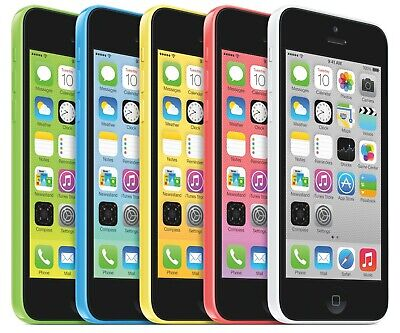 Apple iPhone 5C 8GB 16GB 32GB White Blue Pink Unlocked Smartphone - UK Seller