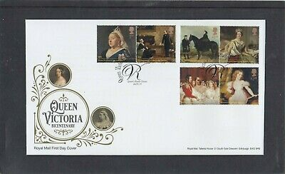 GB 2019 Queen Victoria Royal Mail FDC Queen's Road Chester special pmk