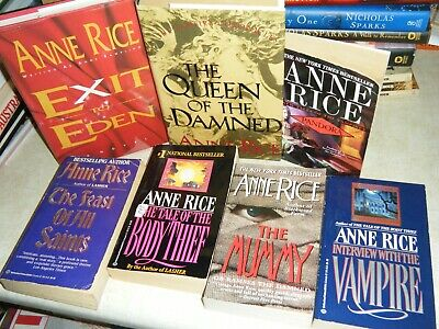 LOT OF 24 ANNE RICE Paranormal Romance VAMPIRE CHRONICLES