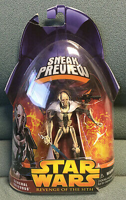 Star Wars Episode III Revenge of the Sith General Grievous 1 of 4 Sneak Preview