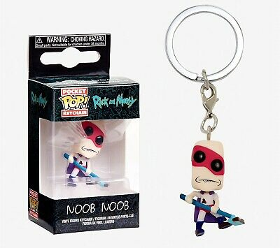 Funko Pocket Pop Keychain: Rick and Morty - Noob Noob Vinyl Figure Item #35928