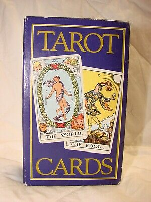 Tarot Cards by A. E. Waite, Drawn by Pamela Coleman Smith, Rider