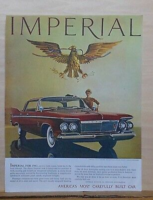 1961 magazine ad for Chrysler - Imperial Crown Southampton in Autumn Russett