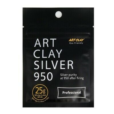 Silver Art Clay,Metal Clay,Ceramics,Porcelein,Jewellery,Polymer,High Quality 950
