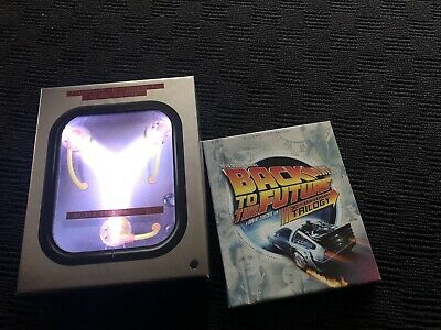 Back to the Future Trilogy Blu Ray - Limited Edition Flux Capacitor Set