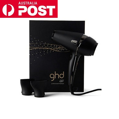 GHD Air Professional Hairdryer Ionic 2100w Powerful comes two nozzles at 240 v