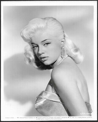 Pouty Diana Dors Femme Fatale Pin-Up 1957 The Unholy Wife Photograph Film Noir