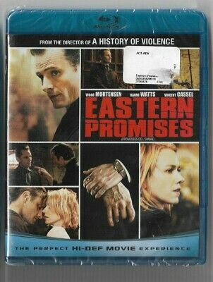 New Sealed  BLU-RAY DISC  - EASTERN  PROMISES -  Also In French