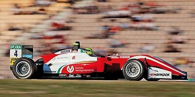 Dallara Mercedes F317 Prema Theodore Mick Schumacher F3 European Champion 1:43