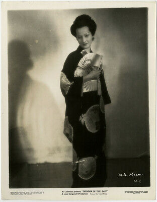 Exotic Temptress Merle Oberon Vintage 1934 Thunder in the East Deco Photograph