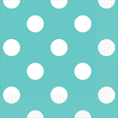 Robin's Egg Blue Dots Everyday Party Supplies