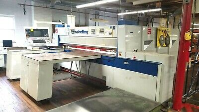2001 Schelling FMH 330/310 CNC Automatic Panel Beam Saw with lift table