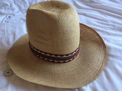 Resistol Stagecoach Straw Stetson Vintage  Coopers Western & Casual Wear Size 7