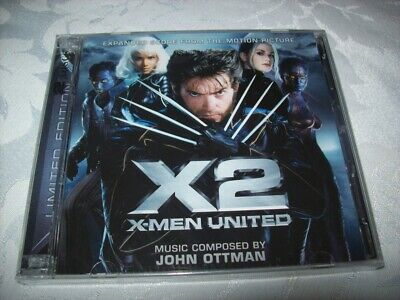Cd - X2 - X-Men United - John Ottman - 2 Cds - Sealed - La-La Land