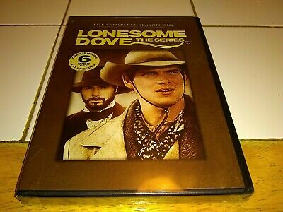LONESOME DOVE The COMPLETE SERIES SEASON ONE 16 Hours  21 Episodes 6 Disc SEALED