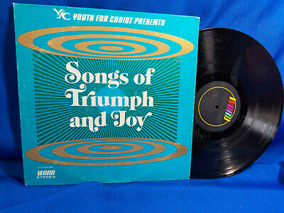 Youth for Christ LP Songs of Triumph and Joy Vol II Rare Southern Gospel 1971