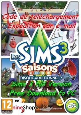 The Sims 3 [PC/MAC] [ALL EXPANSIONS] DOWNLOAD KEYS 🎮