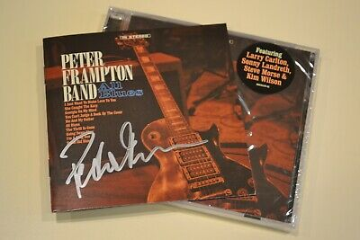 Peter Frampton Band SIGNED All Blues AUTOGRAPHED by Peter Frampton