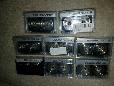 LOT OF 8 WORD STUDIO SERIES ACCOMPANIMENT REEL TO REEL CASSETTE TAPES 1980s RARE