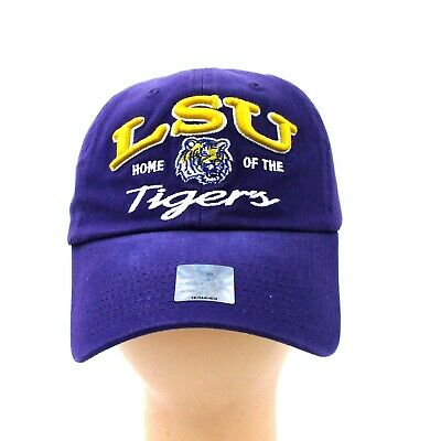 size 40 cecbc 270a9 Lsu Tigers Purple Gold Home Of The Tigers Adjustable Cap Hat Licensed Brand  New