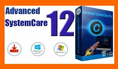 Advanced SystemCare Pro 12 for Windows Lifetime lisense Activated (5 pcs)