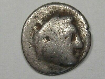 Ancient Greek Coin: Macedonian (336-323 BC) Alexander the Great Silver Drachm.