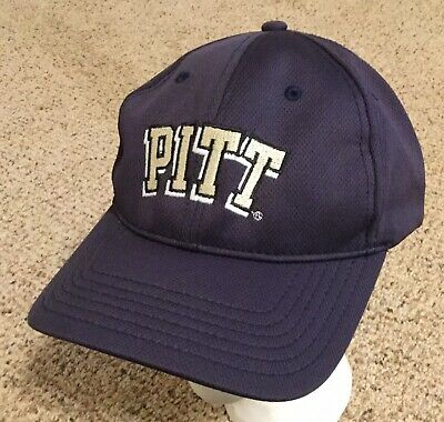hot sale online 7a961 21fba University of Pittsburgh Panthers ~ PITT NCAA Adjustable Navy Cap Hat NEW   read