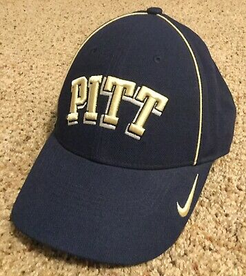 the best attitude f50bd 42a3a Pittsburgh Panthers PITT Nike NCAA Legacy 91 Dri Fit Adjustable Navy Cap Hat  NEW