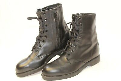 8cf87e01b6b THOROGOOD BLACK LEATHER Work Boots Thinsulate Men's 13M Made in USA ...