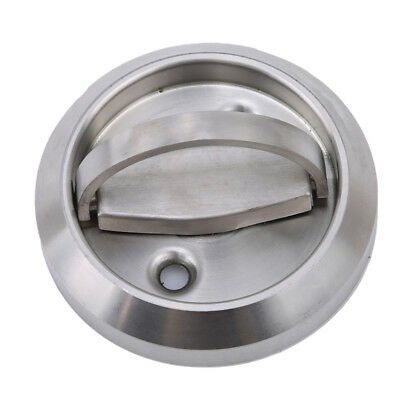 Recessed Cup Ring Flush Pull Handle Invisible Door Handle Stainless Steel W