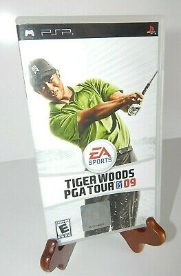 USED EA Sports Sony PSP Tiger Woods PGA Tour Golf Game LOT 07 08 09 NBA Live 06