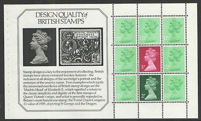 GB 1982~Stanley Gibbons~Prestige Booklet Pane~ex DX3~SG-X849p~MNH~UK Seller