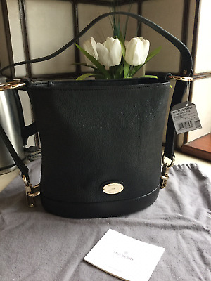 f176d38d61 Mulberry Small Jamie Bag in Black washed calf leather ! Brand new !
