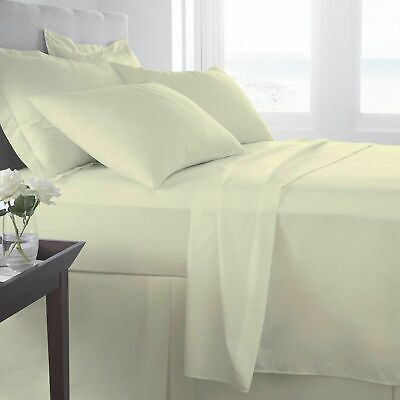 400 Thread Count 100% Egyptian Cotton Duvet/Quilt Cover Bedding Set All Sizes