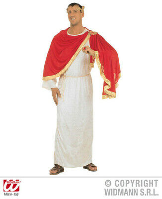 XL Mens CAESAR Costume for Roman King Ancient Leader Fancy Dress Outfit Extra