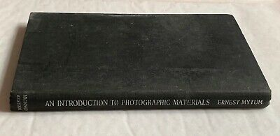 An Introduction to Photographic Materials,  Hardback Book, 1956