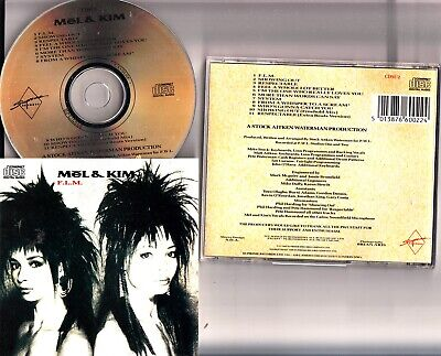 MEL AND KIM- FLM CD (1987 Album SAW PWL Supreme) Respectable & Showing Out