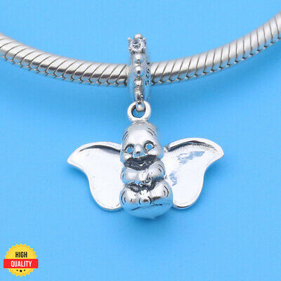 737a82f03 PANDORA NEW CHARM BEAD Disney's Flying Dumbo 2019 Dangle Silver 925  Original ⭐
