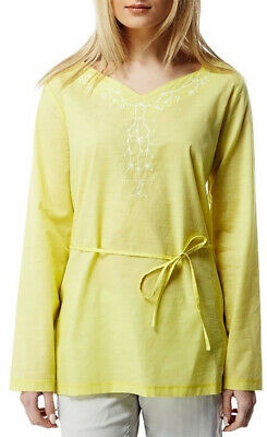 Craghoppers Rayna Long Sleeve Womens Top - Yellow