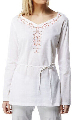 Craghoppers Rayna Long Sleeve Womens Top - White