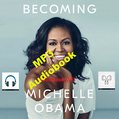 Becoming by Michelle Obama (MP3 Audiobook, fast E-Delivery)